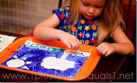 Q Tip Painting Printables