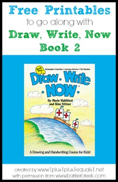 Draw, Write, Now Book 2 Printables