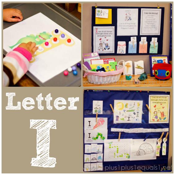 Home Preschool Letter I