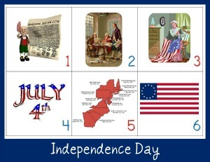 Independence Day Calendar Connections
