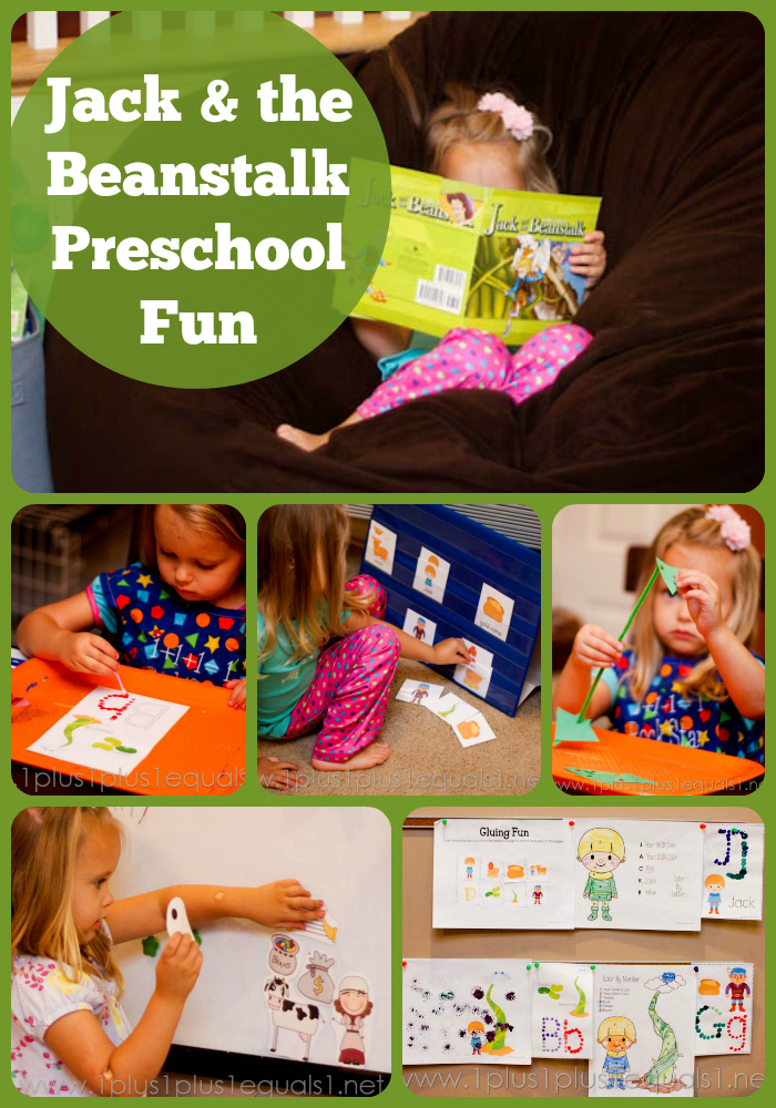 Jack and the Beanstalk Preschool