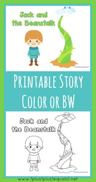 Jack and the Beanstalk Printable Reader