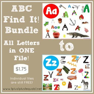 ABC Find It Bundle