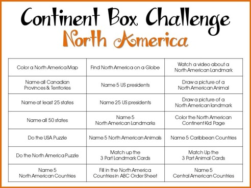 Continent Box Challenge North America