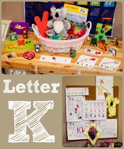 Home Preschool Letter K