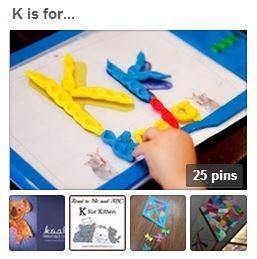 Letter K Pinterest Board