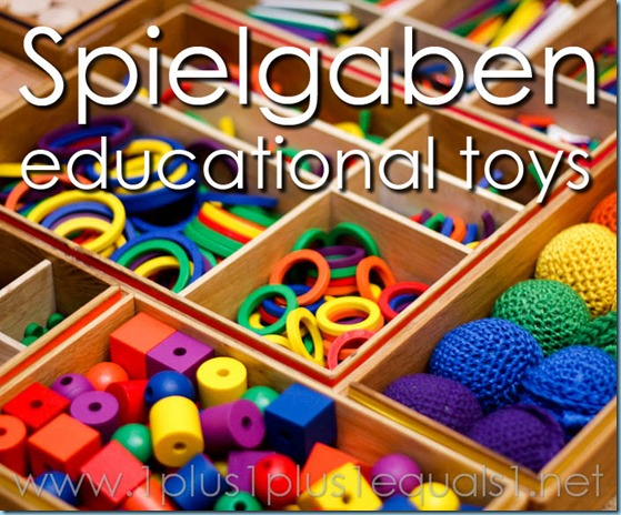 Spielgaben Educational Toys