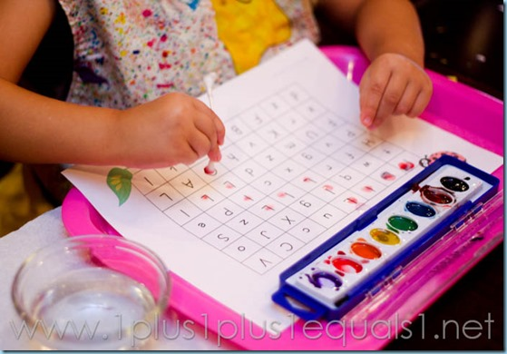 Home Preschool Letter L -7050