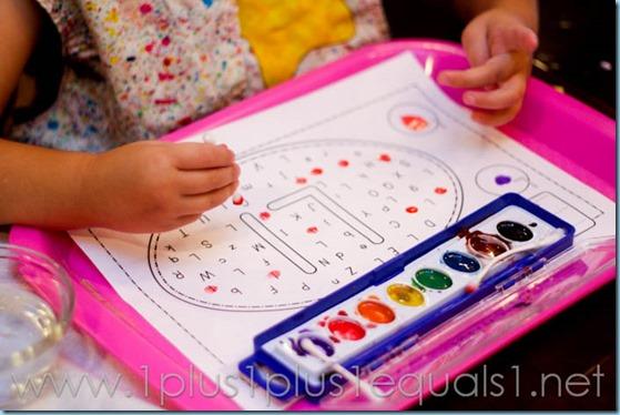 Home Preschool Letter L -7051