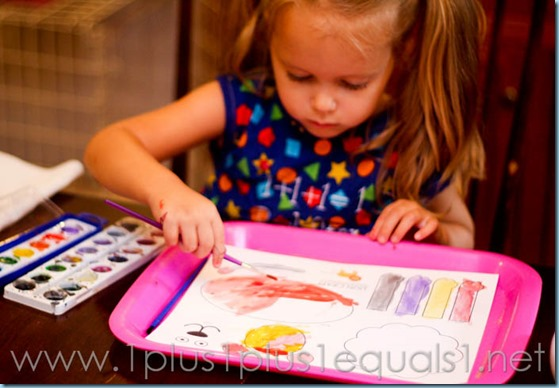 Home Preschool Letter L -7448