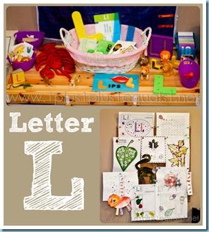 Home Preschool Letter L