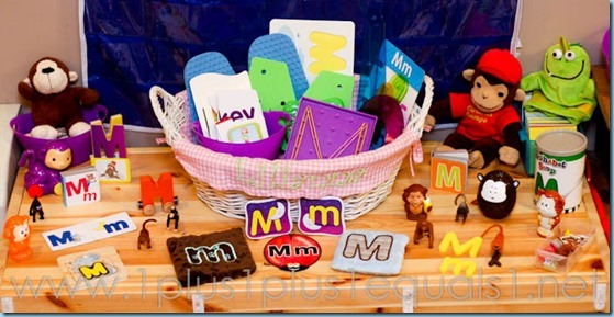 Home Preschool Letter M -7995