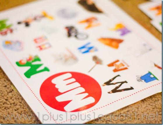 Home Preschool Letter M -8029