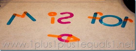 Home Preschool Letter M -8306