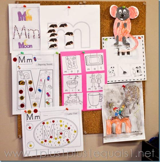 Home Preschool Letter M -8718