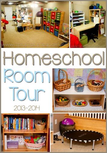 Homeschool Room Tour 2013
