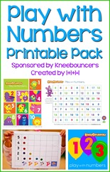 Play with Numbers Printable Pack