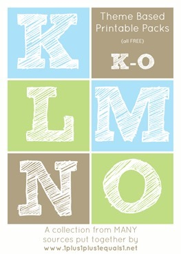 Theme-Printables-K-through-O