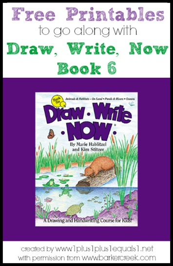 Draw, Write, Now Book 6 Printables