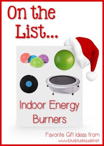 Indoor Energy Burners
