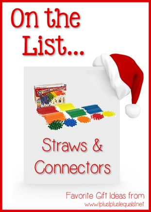 On the List ~ Straws & Connectors