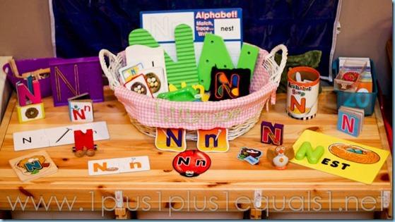 Home Preschool Letter N -8951