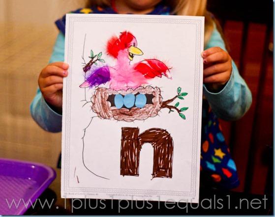 Home Preschool Letter N -9147