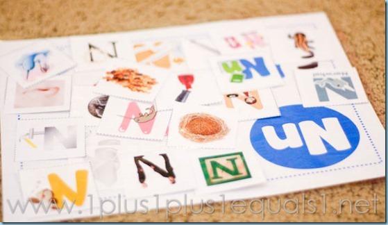 Home Preschool Letter N -9215