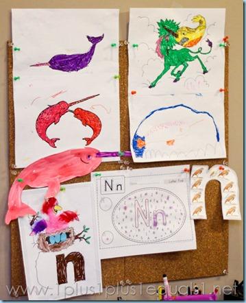 Home Preschool Letter N -9333