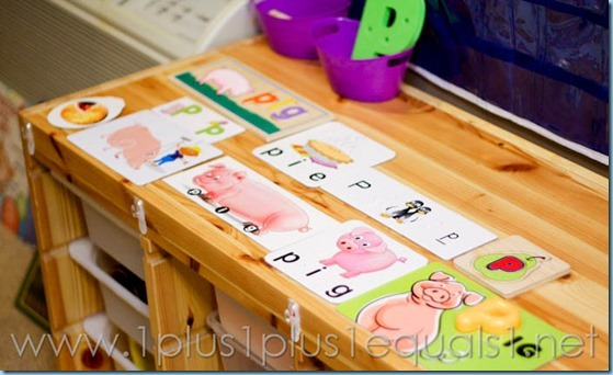 Home Preschool Letter P -9710
