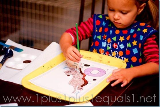Home Preschool letter o -9464