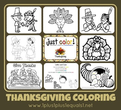 Just Color Thanksgiving