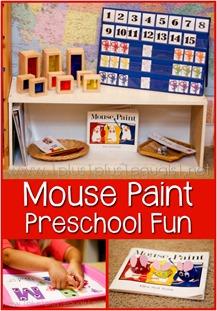 Mouse Paint Preschool Fun