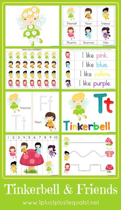 Tinkerbell Printables