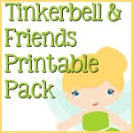 Tinkerbell and Friends Printable Pack