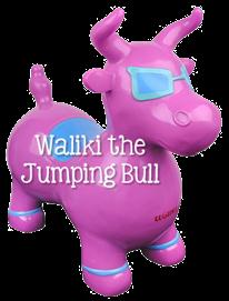 Waliki the Jumping Bull