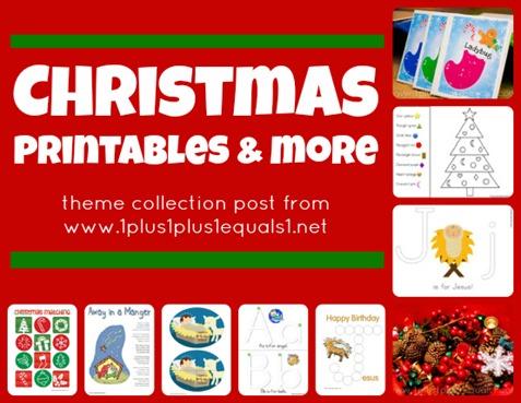 Christmas Printables and More
