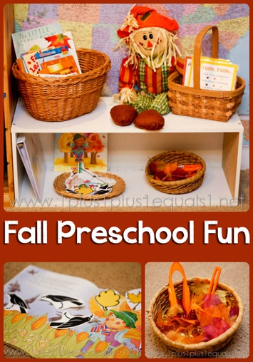 Fall Preschool Fun