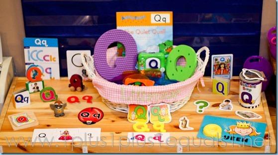 Home Preschool Letter Q -0343