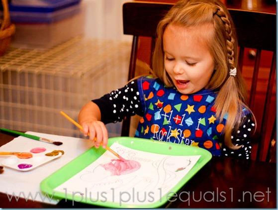 Home Preschool Letter Q -0350