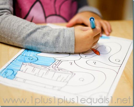 Home Preschool Letter Q -0677