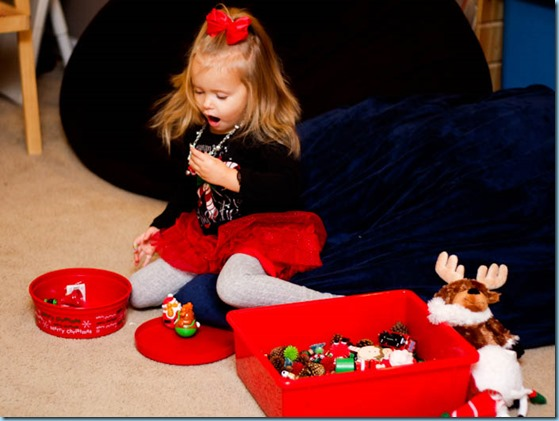 Christmas Sensory bin -5195
