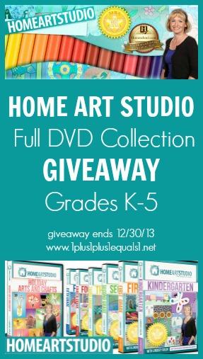 Home Art Studio Giveaway