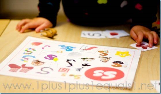 Home Preschool Letter S -1436