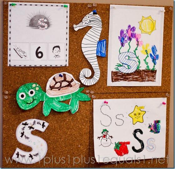 Home Preschool Letter S -1479
