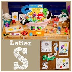 Home preschool Letter S