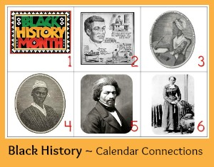 Black History Calendar Connections