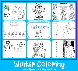 Just Color Winters