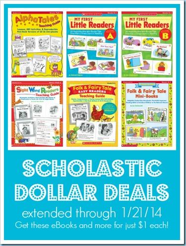 Scholastic Dollar Deals