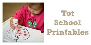 Tot School Printables